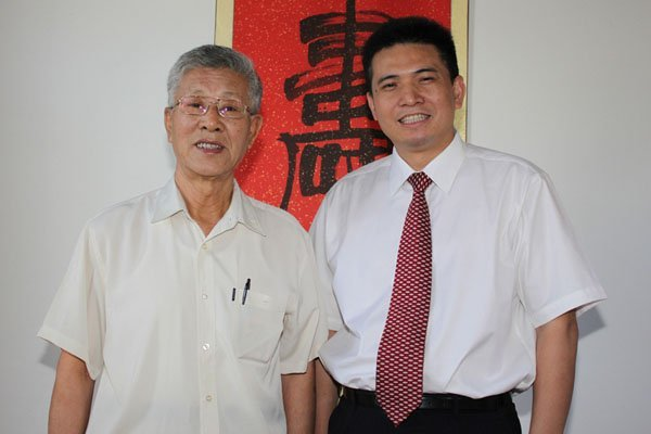 Former president of China Academy of Traditional Chinese Medicine, Professor Fu Shikuan